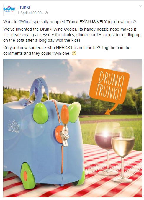 Trunki on Facebook