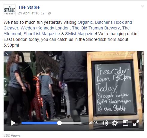 The Stable on Facebook