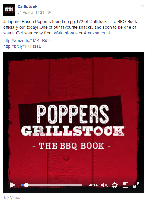 Grillstock on Facebook