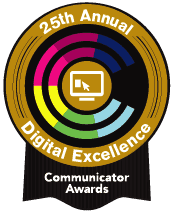 Communicator Awards winner